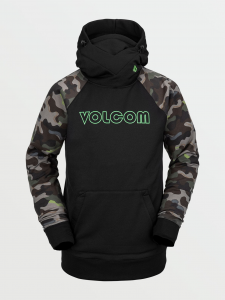 Felpa Snowboard Volcom Riding Hoodie Camo