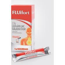 Fluifort 10 bustine tosse grassa