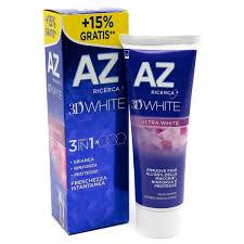 AZ ricerca 3D white 3 in 1 dentifricio