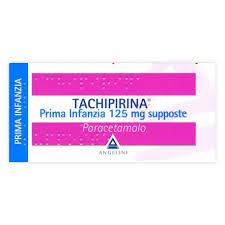 Tachipirina 125 mg supposte