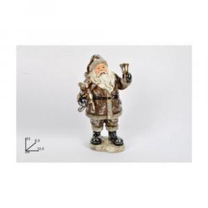 Due Esse Babbo Natale 23 cm Oro Decorazione Natalizia