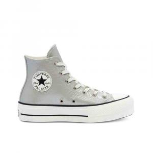 Convers Chuck Taylor Silver Sneakers da Donna