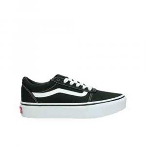 Vans Ward Platform Sneakers Zeppa Nera da Donna