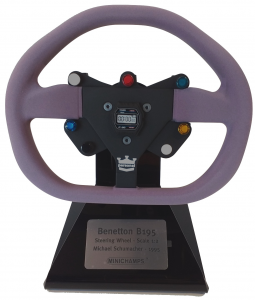 Benetton B195 Steering Wheel Michael Schumacher 1995 1/2