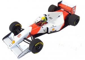McLaren Ford Mp 4/8 Winner Japanese Gp 1993 Ayrton Senna 1/18