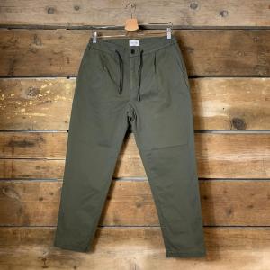 Pantalone Amish Rick Slacks Verde Oliva