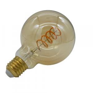 Lampada globo decorativa led diametro 9cm