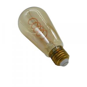 Lampada decorativa led fuso ambra 4w