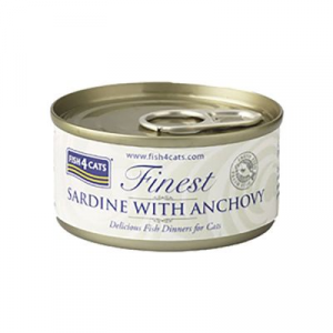 FISH4CATS UMIDO GATTO CON SARDINE E ACCIUGHE 70 GR