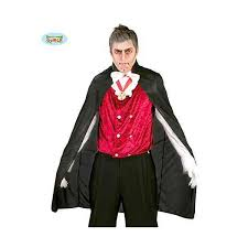 VAMPIRO Mantello Nero 110 cm HALLOWEEN