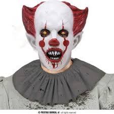 IT Maschera Clown Rosso HALLOWEEN