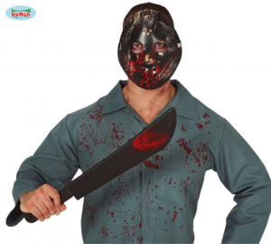 JASON Set Maschera Macete HALLOWEEN