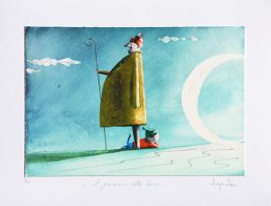 Santini Diego Stampa al giclèe con ritocchi manuali Formato cm 35x45