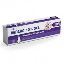 Benzac 10% gel 40g