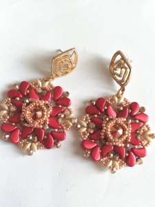Orecchini cerimonia rose gold | Bigiotteria artigianale Made in Italy