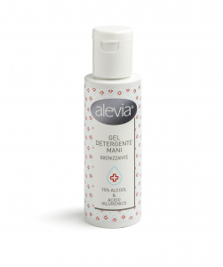 Alevia hand cleaning gel sanitizer -  with hyaluronic acid & 75% alcool