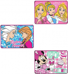 N. 3 Tovagliette all'Americana Principesse - Frozen - Minnie