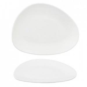 Cegoco Omega Piatto Piano in Porcellana 25,5 Cm per la Cucina