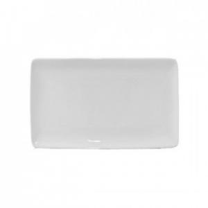 Cegeco Delta Teglia 30,5X18,5CM. Bianca in Porcella, Articoli per la Cucina