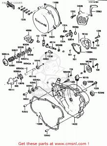 Guarnizione Coperchio Generatore Kawasaki KX 500