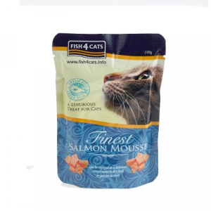 FISH4CATS MOUSSE SALMONE GATTO 100G