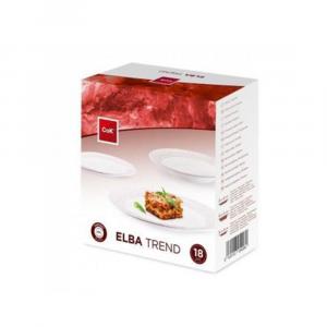 CEGECO Elba Trend Set Tavola Piatti 18pz, Articoli per la Cucina/Casa