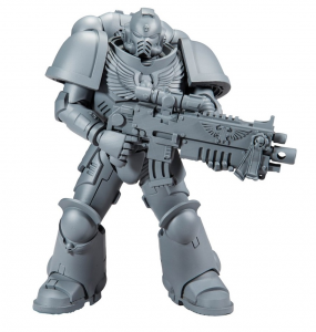 Action Figure: Warhammer 40k SPACE MARINE (unpainted) by McFarlane Toys