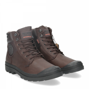 Palladium Pampa Shield dark brown