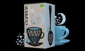 Nighty Night Infuso Biologico con Cannella, Camomilla e Melissa 20 Bustine