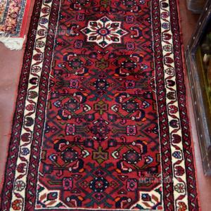 Tappeto Corsia Persiano Rosso Beige Verde 69x194cm