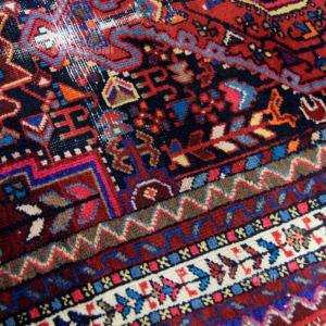 Carpet Persian Red Blue Dark 108x170cm
