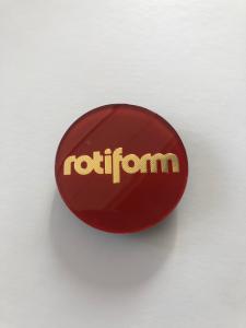 CAP Rotiform - lente originale Rotiform Candy Red/Gold