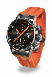 Locman Montecristo Cronografo Nero Arancione