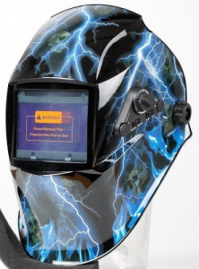 MASCHERA SALDATURA AUTO OSCURANETE LCD CRISTALLI LIQUIDI - VARI COLORI