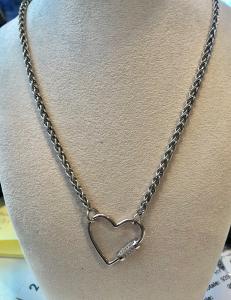 Collana in argento 925% linea Marana