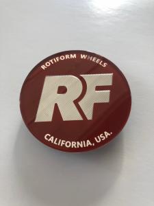 CAP Rotiform - lente originale Rotiform Candy Red/Silver