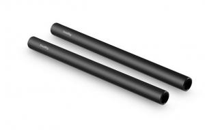 Aste in Alluminio Nere 25mm 2pz - 1052