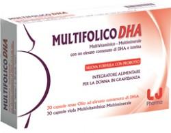 Multifolico DHA 30CPS+30CPS