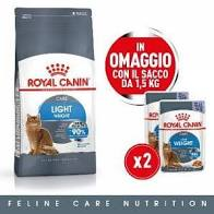 OFFERTA!!! ROYAL CANIN CAT LIGHT WEIGHT CARE 1,5KG + 2 BUSTE OMAGGIO!!!