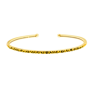 Bracciale Rigido - Jungle Tribe - Giallo