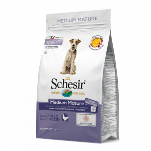 SCHESIR DOG MEDIUM MATURE MONOPROTEICO POLLO