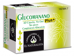 El Natural Glucomanano Plus 60 Caps