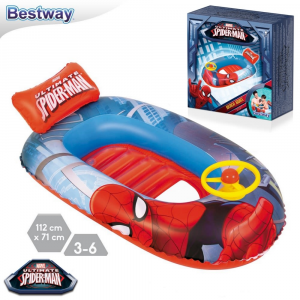 CANOTTINO SPIDER-MAN CM.112x70 98009B BESTWAY EUROPE