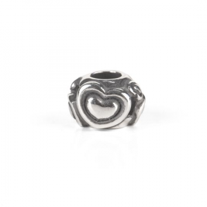 Trollbeads Beads, Cuore nel cuore