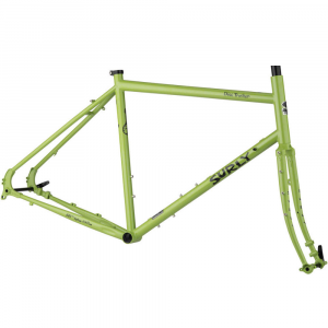 Surly Disc Trucker - Frameset green