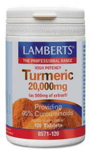 Lamberts Curcuma Turmeric 20,000 Mg 120