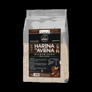 Drasanvi Harina Avena Sabor Chocolate 1kg Sport Live