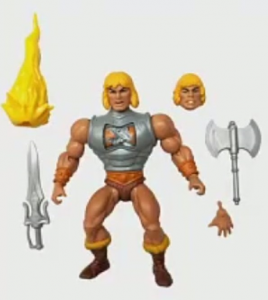 Masters of the Universe ORIGINS: HE-MAN DELUXE by Mattel 2021