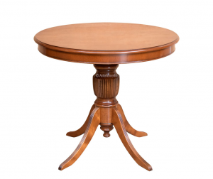 Runder Tisch aus Holz Durchmesser 90 cm