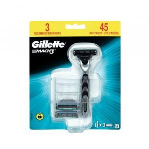 Gillette Mach3 Rasoio + 3 Ricarica